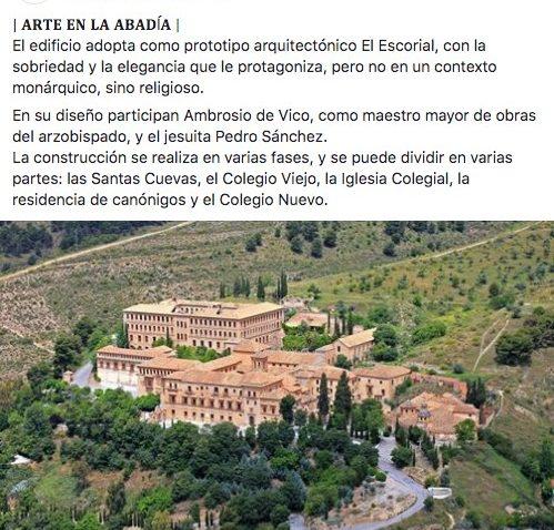 Granada abadia sacromonte