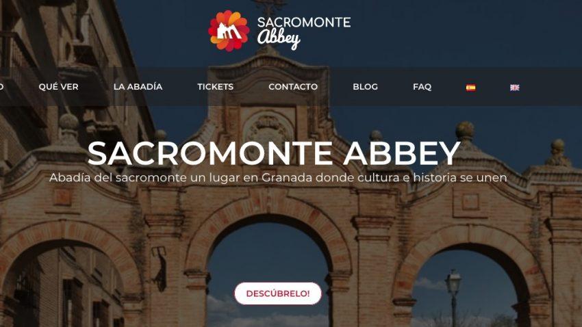 web Abadía Sacromonte en Granada